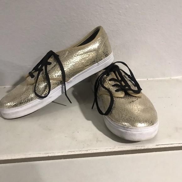 Vans Other - Girls Gold Vans